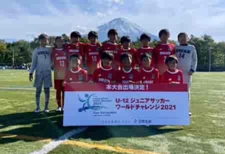 速報!U-12ジュニアサッカーワールドチャレンジ 街クラブ予選 2021@山梨 優勝はDREAM FC(大阪府)!本大会出場決定!! 全結果揃いました!