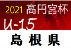 2021年度  名古屋市ユースU-14サッカー選手権(愛知)2回戦全結果&3回戦7試合結果掲載!次回10/30開催