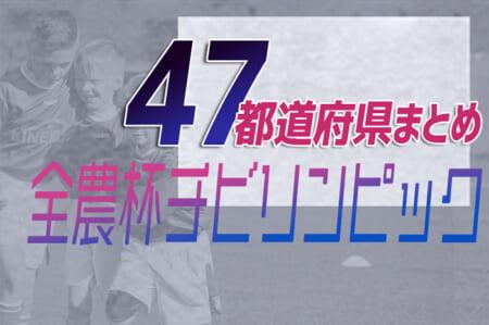 【2021年度U-11チビリンピック(新人戦)まとめ】2022年5月の全国大会をめざせ!【47都道府県別】